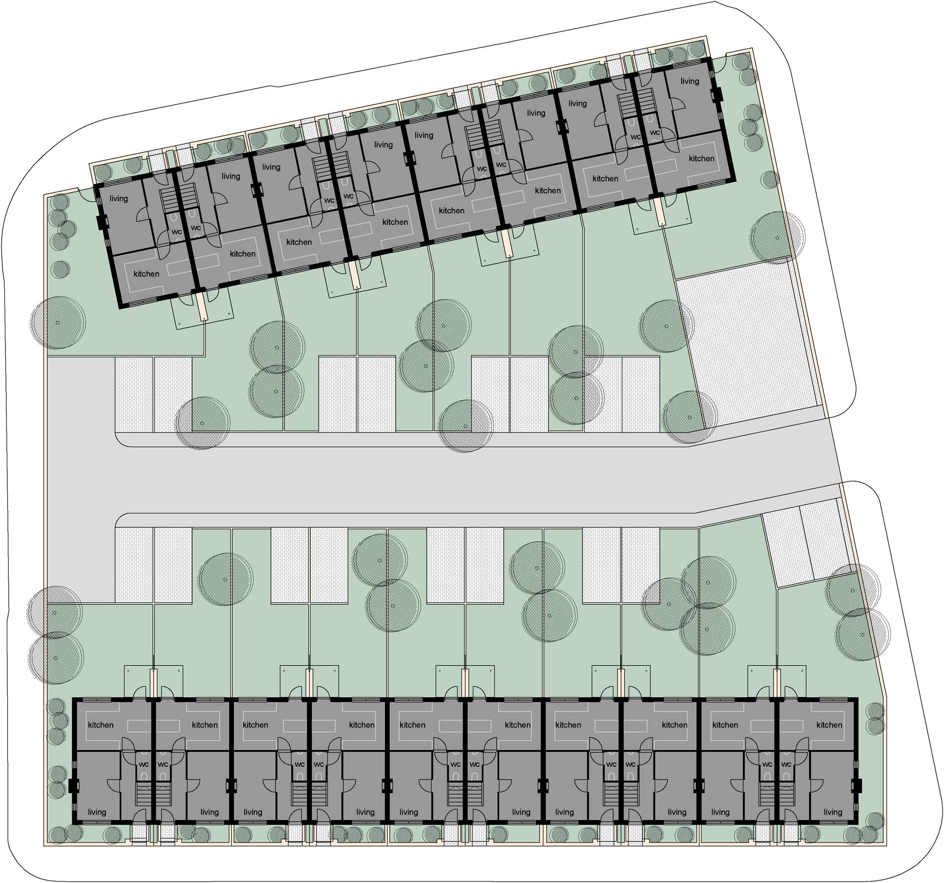 crewe west street social housing plan