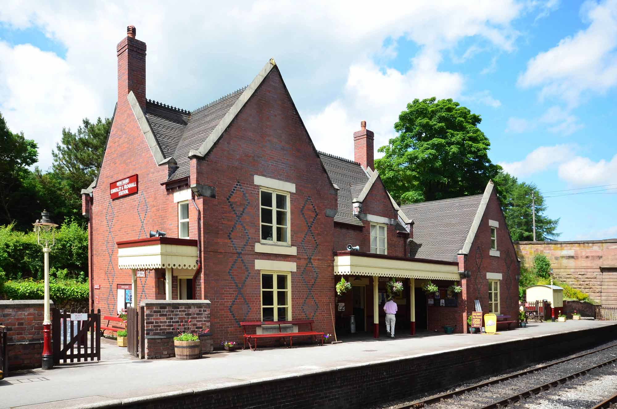 kingsley and froghall railway station and visitor centre