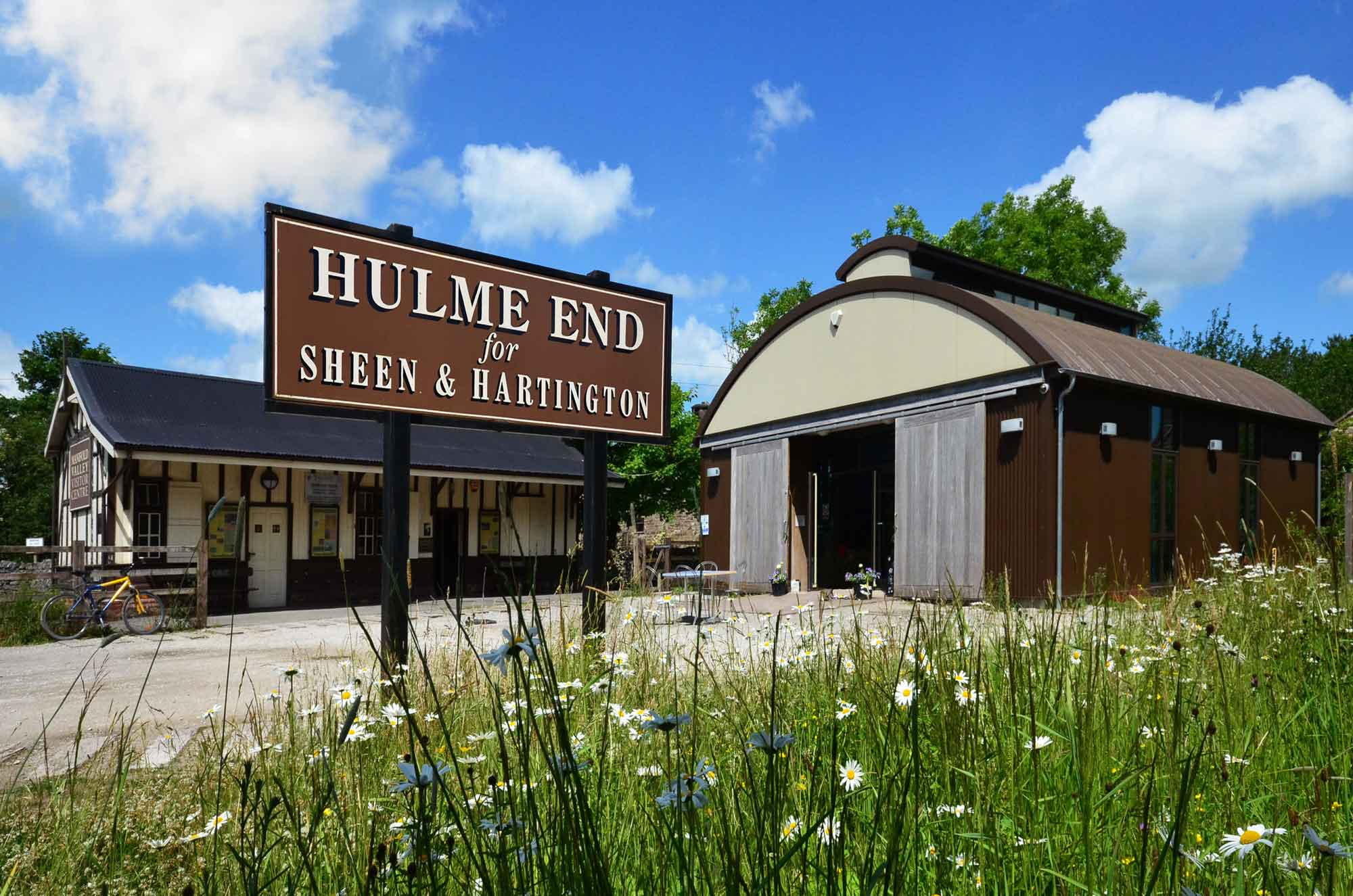 new railway Visitor Centre at hulme end