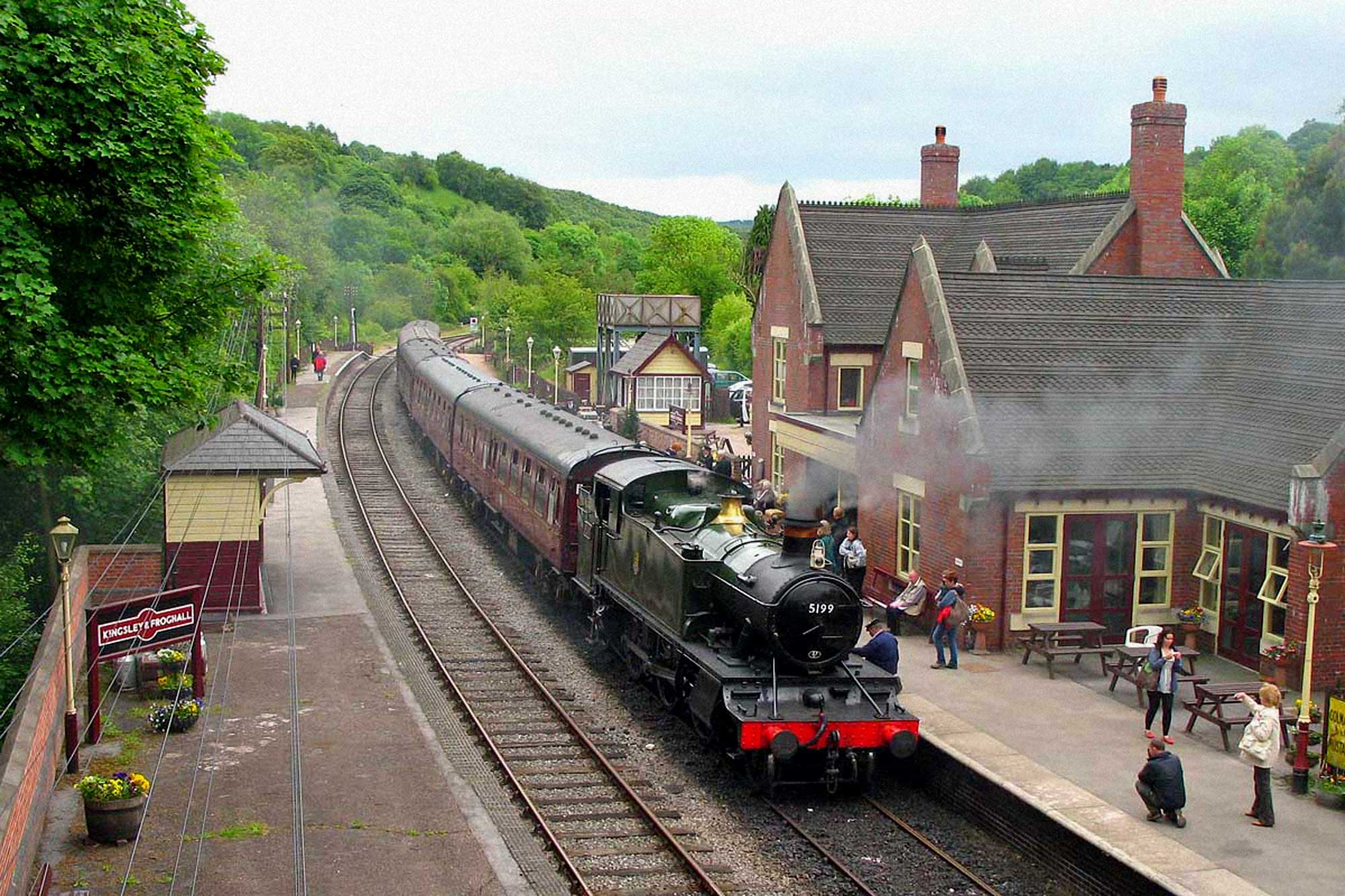 kingsley and froghall steam railway station and visitor centre