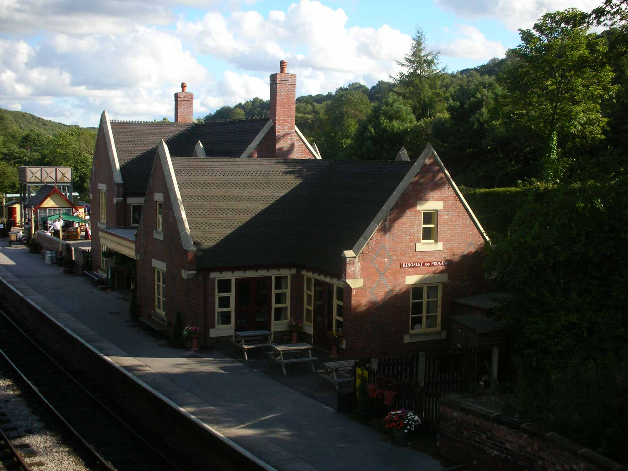 kingsley and froghall railway station and visitor centre 2