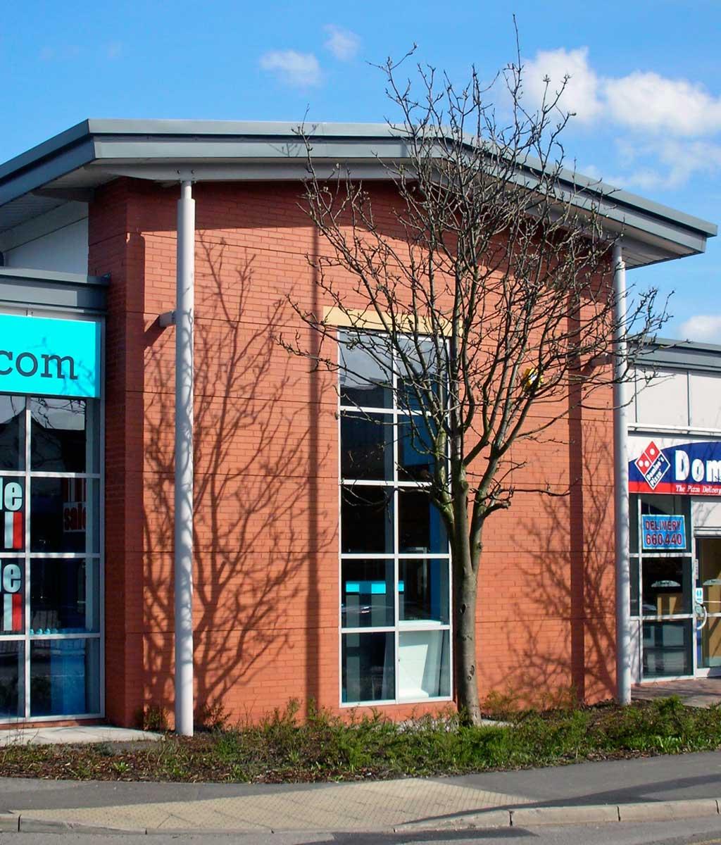new build retail unit