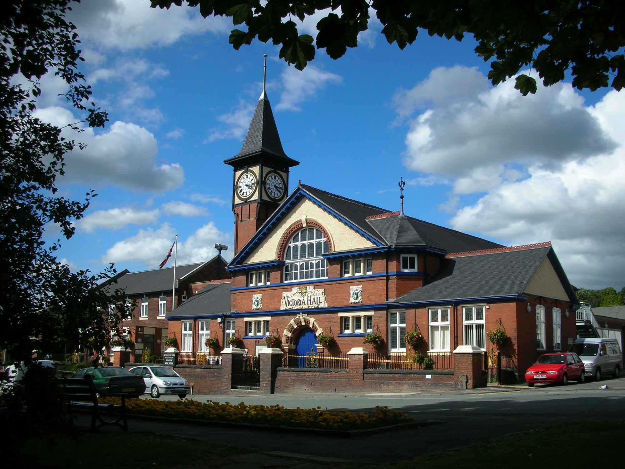 victoria hall on liverpool road in kidsgrove
