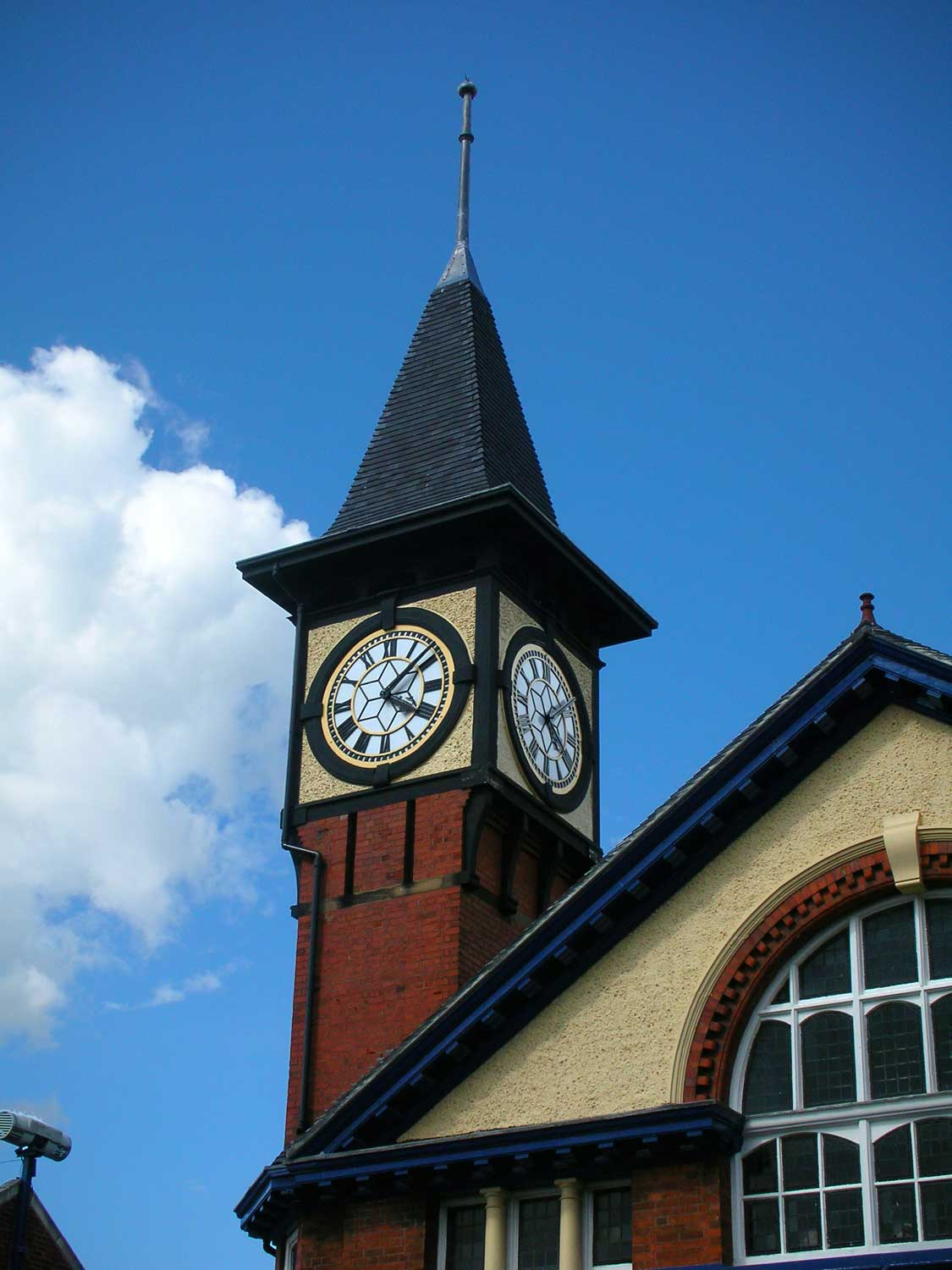 victoria hall kidsgrove clock tower