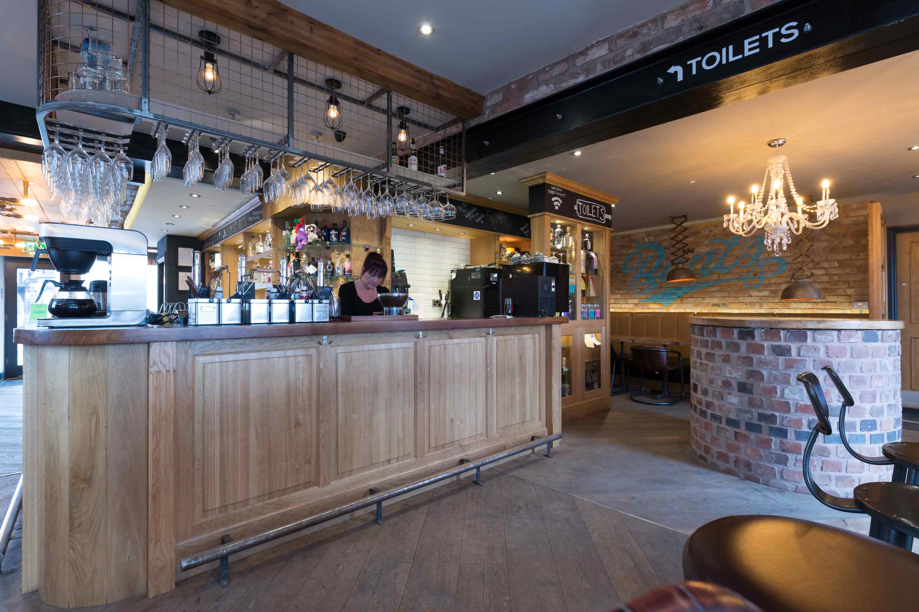 conservation architecture in eccleshall staffordshire brewery gin bar coffee